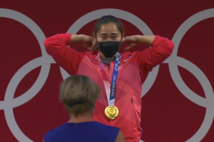 菲律宾奥运会举重冠军将荣耀归给耶稣!